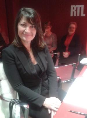 Dans les studios d'RTL le 23 novembre 2012