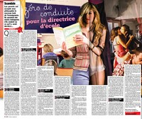 Affaire Directrice Ecole Cabries