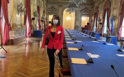 Maître Sylvie Noachovitch à l'Assemblée Nationale pour défendre sa proposition de Loi sur les plates-formes de recommandation d'artisans